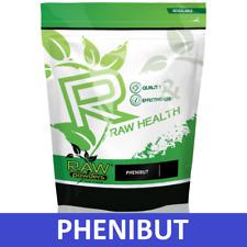 RAW Powders Pheni HCL 50g Powder / 90 Caps * 500mg For Relaxation, Mood, Sleep