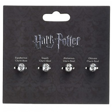 Official Harry Potter Jewellery Charm Bead Set - 4 X Spell Beads HP0072