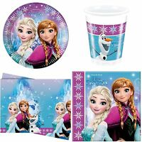 Disney Frozen Northern Lights Birthday Party Tableware, Decorations, Accessories