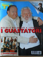 TV Sorrisi e Canzoni 10 1997 Il Fenomeno Jovanotti Jalisse Paolo Villaggio [C92]