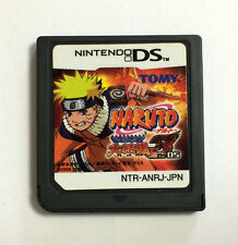 USED Nintendo DS NARUTO Saikyo Ninja Daikessyu 3 for DS JAPAN Game Soft Only