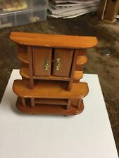 Dollhouse miniature Open Space Cabinet