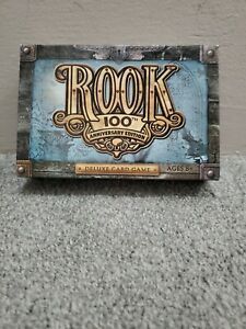 Rook 100th Anniversary Edition Card Game - Complete Half of Cards Sealed