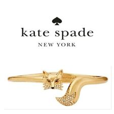 Kate Spade Fantastic Mr Fox Bracelet NWT So Foxy Mrs. Fox Cuff