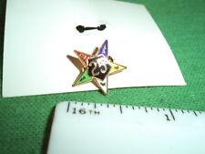 F.N. Kistner Co. Temple Treasures 25 year? 5 Star Pin in Original Box, Chicago