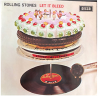 RARE The Rolling Stones – Let It Bleed Vinyl LP SKL 5025  1969 Decca