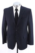 navy blue nailhead BARNEYS NEW YORK blazer jacket loro piana sport coat 40 R