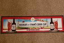 1 X Pimm's Cider Cup Rubber Backed Bar Runner