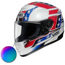 Shoei Quest Motorcycle Crash Helmet Iridium Mirror Replacement Race Visor