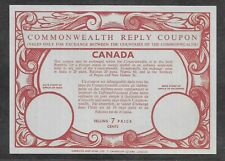 CANADA REPLY COUPON 7 CENTS (NH) FROM ??