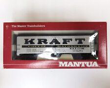 Mantua HO Heavy 32' Hopper Peabody in Original Box - Kraft Cheese