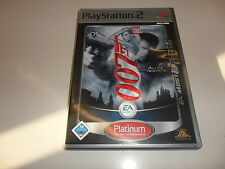 PlayStation 2  PS 2  James Bond 007 - Alles oder Nichts [EA Most Wanted]