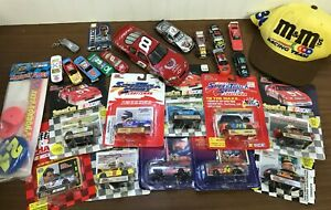 Vintage Lot NASCAR Collectibles Diecast Cars Cards Extra's