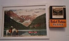 Perfect Picture Puzzle Lake Louise Canadian Pacific Railroad 275 Pieces Complete
