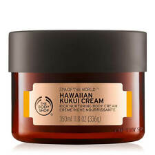 The Body Shop Hawaiian Kukui Cream Rich Nurturing Body Cream 11.8 oz NEW