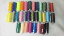 Embroidery Sewing Thread Spools Lot of 32 Colors