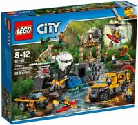 LEGO City 60161 Jungle Exploration Site Building Kit 813 Pcs
