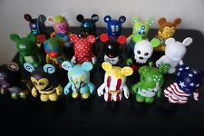 Disney Vinylmation Lot - Early Series! Variety of Figurines and Chaser