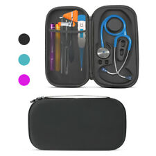 Black Medical Nurse Storage Bag Stethoscope Carry Case Pouch fits 3M Littmann