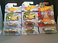 HOT WHEELS 2019 HOLIDAY HOT RODS COMPLETE SET OF 6 EXCLUSIVE FREE SHIPPING NEW