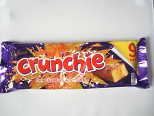 Cadbury Crunchie 9 Chocolate Bars 234.9g NEW SHIPS WORLDWIDE
