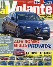 Al Volante 2016 6 Giugno#Alfa Romeo Giulia,jjj