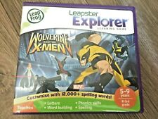 Leapfrog leappad 2,3 ultra xdi platinum ultimate Marvel Xmen game Boxed