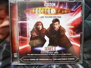 DOCTOR WHO: SERIES 4. Soundtrack CD. Murray Gold. 2008.