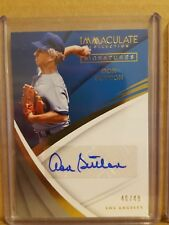 2018 Immaculate Collection Don Sutton Auto Baseball card #'d 46/49 Los Angeles
