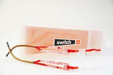 Switch it combi 2364 Wechselbrille Brille randlos Damen rot orange Neu