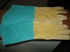 Caiman leather gloves welding soldering tools protective gear