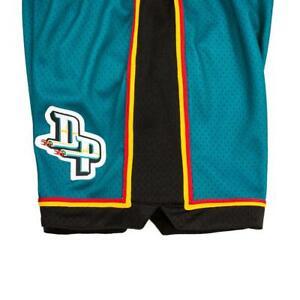 Mitchell & Ness Detroit Pistons 1998 Stackhouse Dumars Laettner AUTHENTIC Shorts