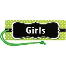 Lime Polka Dots Magnetic Girls Pass Teacher Created Resources Tcr77240