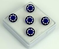 Blue Tanzanite Gemstone Lot Natural 10.80 Carat/5Pcs Round Cut AGSL Certified