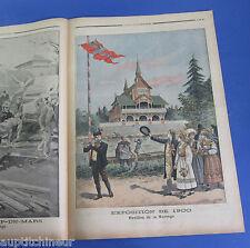 Le petit journal 1900 495 exposition universelle paris pavillon de la Norvège