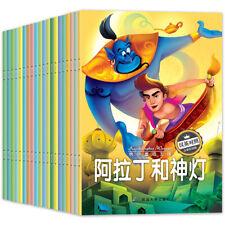 20 books /set chinese books ,Chinese English bilingual children's stories book