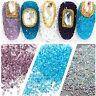 1000pcs/pack DIY Nail Art Tips Charm Gems Crystal Glitter Rhinestones 3D Decor