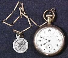 Vintage Hamilton 992 - 21 Jewel Railway, Railroad Gold Filled Pocket Watch