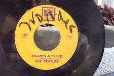 45Z THE BEATLES TWIST AND SHOUT / THERE'S A PLACE ON TOLLIE RECORDS