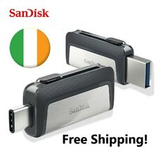 Sandisk Dual Drive 2in1 Flash drive memory stick Type C & USB 3.1 32GB/64GB card