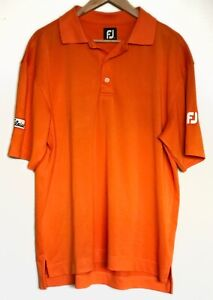 Footjoy mens GOLF polo- size L - Excellent as new condition + FREE POSTAGE