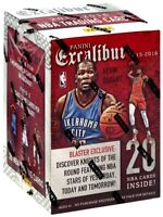 2015-16 Panini Excalibur Basketball Blaster Box NEW