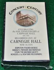Concert of the Century, Carnegie Hall Cassette Boxed Set - 1976,  New Sealed