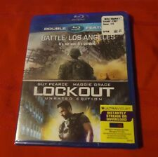 Battle: Los Angeles/Lockout Double Feature (Blu-ray Disc, 2013, 2-Disc Set)