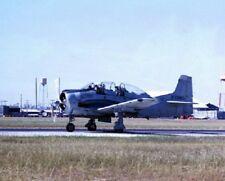 "Unmarked North American T-28D Trojan taking off 8""x10"" Vietnam War Photo 310"
