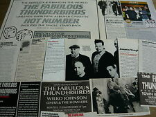 THE FABULOUS THUNDERBIRDS - MAGAZINE CUTTINGS COLLECTION (REF XB)