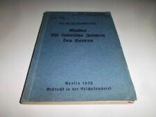 orig. H.Dv. 272 Muster für taktische Zeichen des Heeres 1936 Selten!