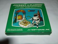 JOURNEY TO THE PLANETS by JV SOFTWARE(1982)ATARI 400/800 COMPUTER NEW OLD STOCK!