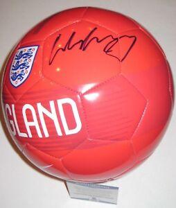 WAYNE ROONEY Signed Nike ENGLAND SOCCER BALL w/ Beckett COA