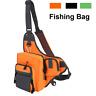 Fishing Tackle Bag Waterproof Pockets Waist Shoulder Reel Lure Bags Packs Case